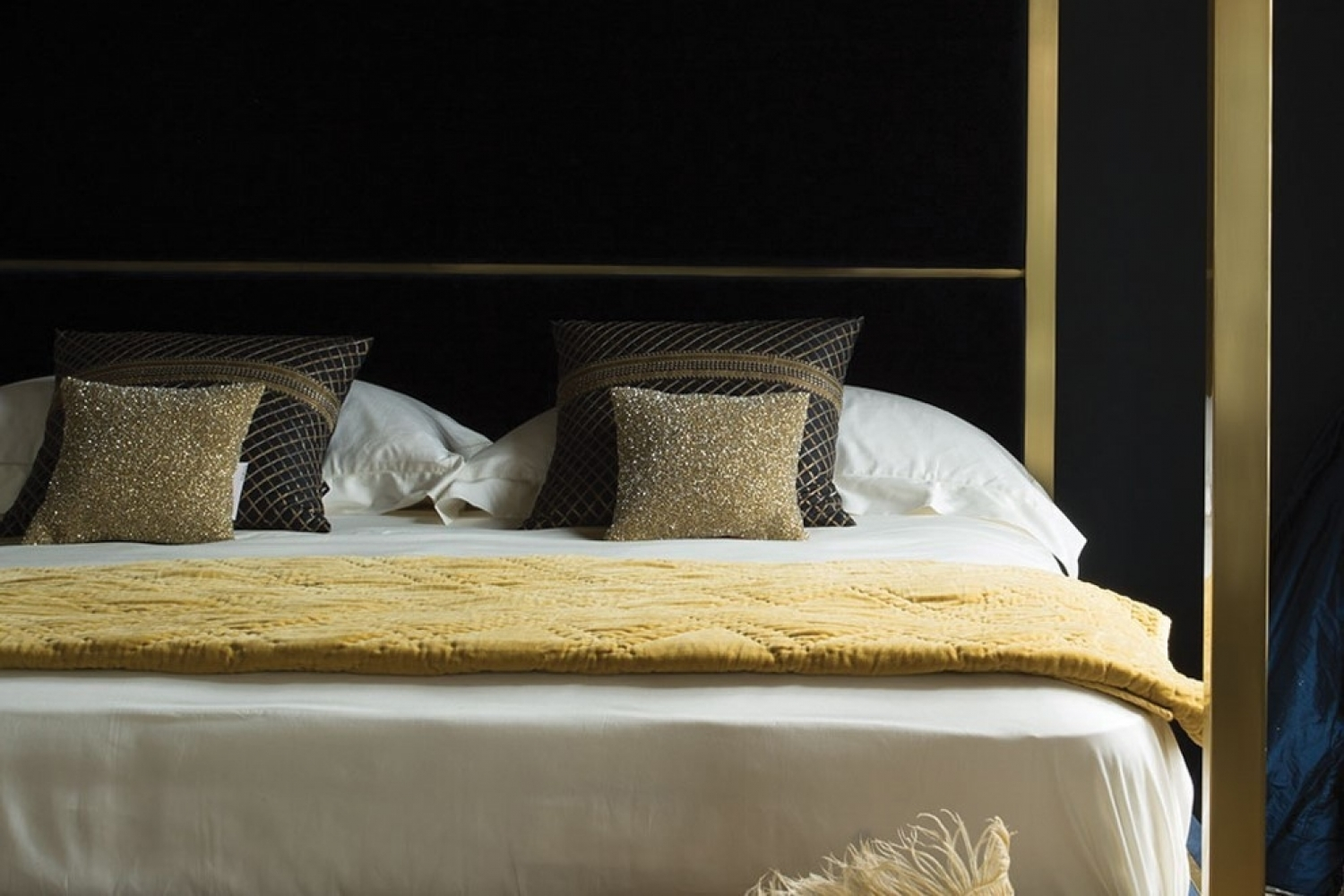 Home Bedroom Beds Hoxton Four Poster Bed King