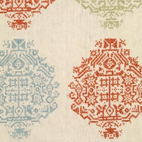 Andros Embroidered Linen